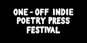 One-Off Indie Poetry Press Festival logo